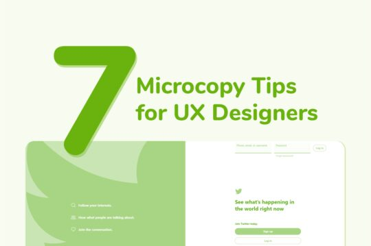 Practical Tips for Better UX Microcopy